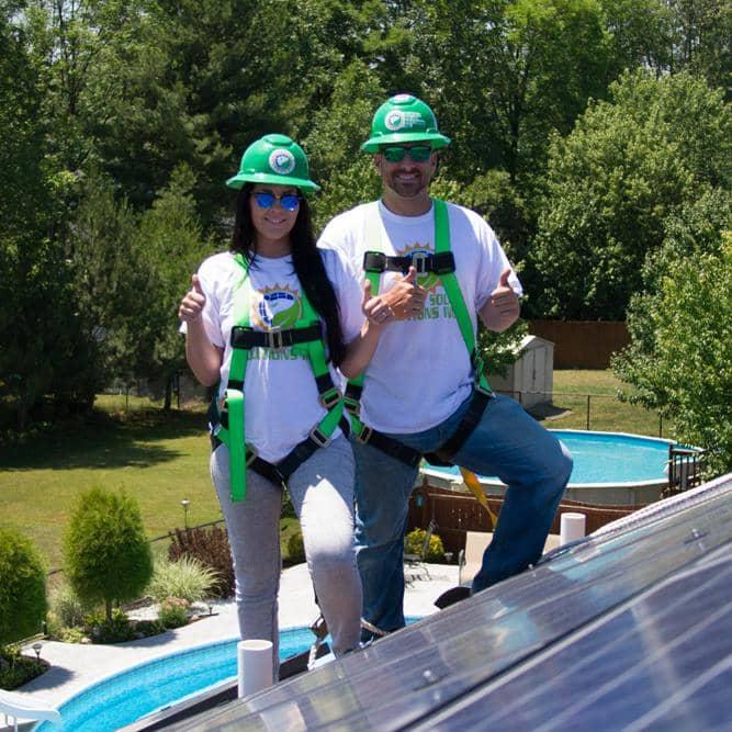 Tyler Uebelhoer & Alicia Uebelhoer - Buffalo Solar Solutions - Buffalo NY