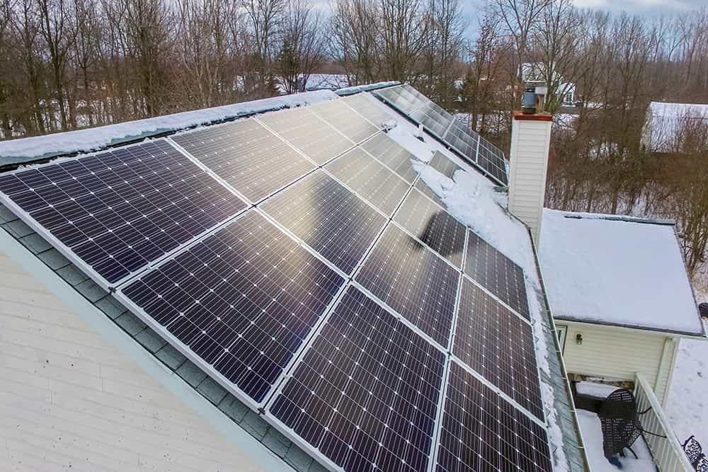 Installing Solar Panels During the Winter - Buffalo Solar Solutions