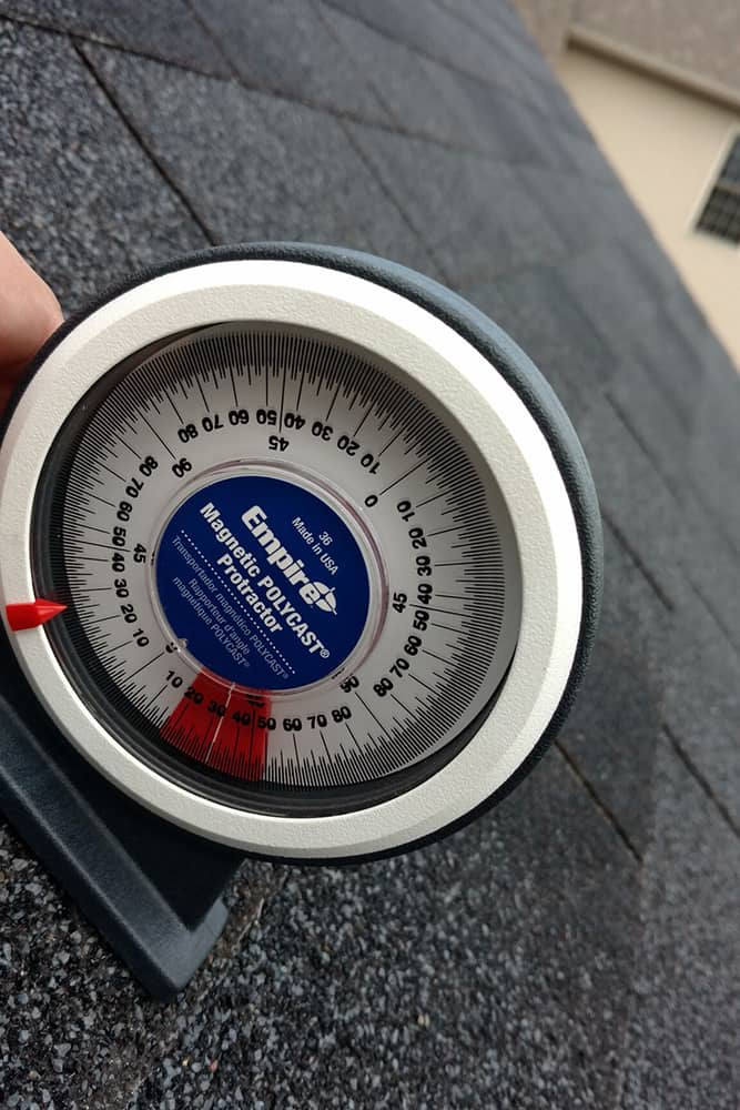 Site Assessment - Inclinometer - Buffalo Solar Blog - Buffalo Solar Solutions