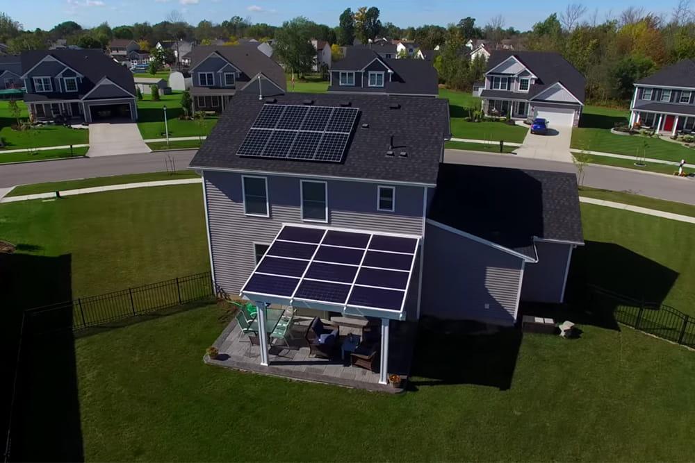 Testimonial Chris C Lancaster NY - Solar Pergola - Buffalo Solar Blog - Buffalo Solar Solutions