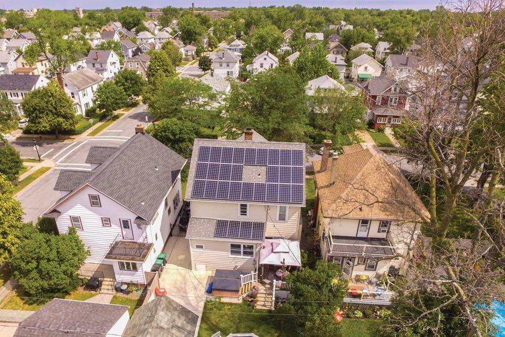 Case Study - Kenmore NY April 2017 - Buffalo Solar Solutions