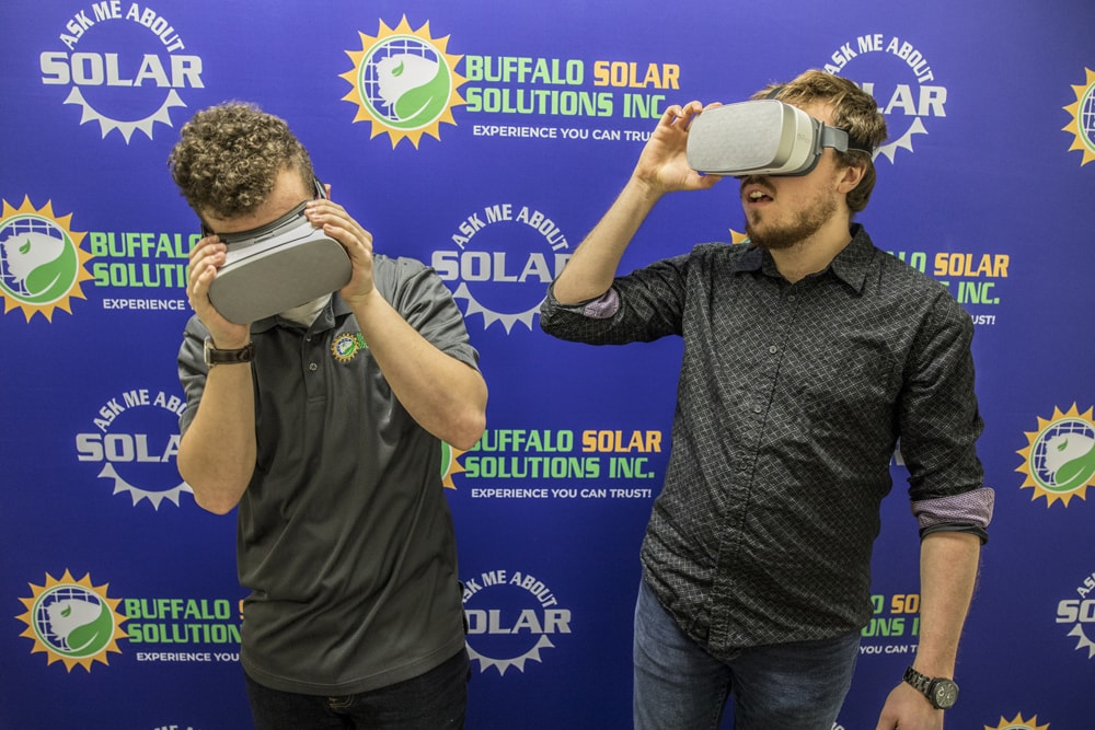 Virtual Reality at the 2018 Buffalo Home Show - Buffalo Solar Solutions - Buffalo NY - Buffalo Solar Blog