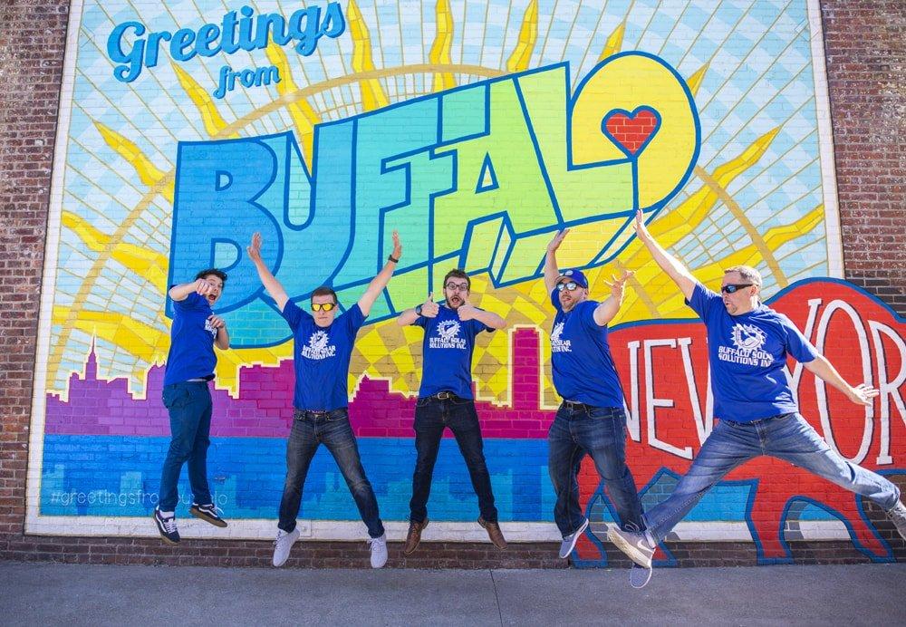 Buffalo Solar Solutions - Team Photo 2018 June