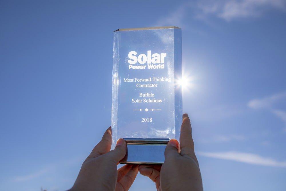 SPI Award 2018 - Buffalo Solar Solutions