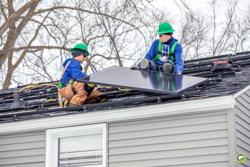 Renewable Energy Careers: Solar Panel Installers - Buffalo